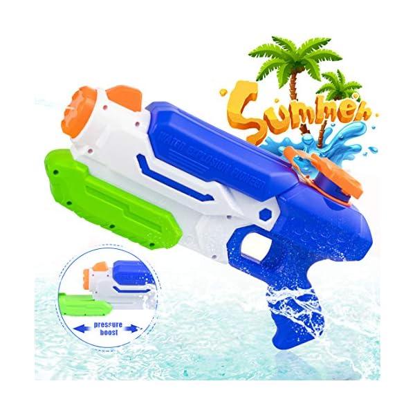 O-Kinee Pistole ad Acqua Giocattolo,Squirt Gun Tiratore delle Pistole Ad Acqua del Giocattolo per I Bambini della… 1 spesavip