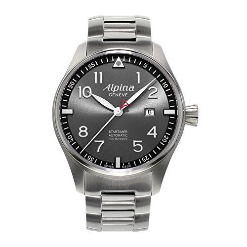 Alpina Geneve Startimer Automatic AL-525GB4S6B Automatic Mens Watch Alpina Rotor