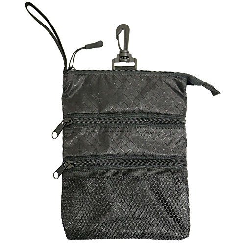ProActive Sports Unisex Zippered Valuables Pouch