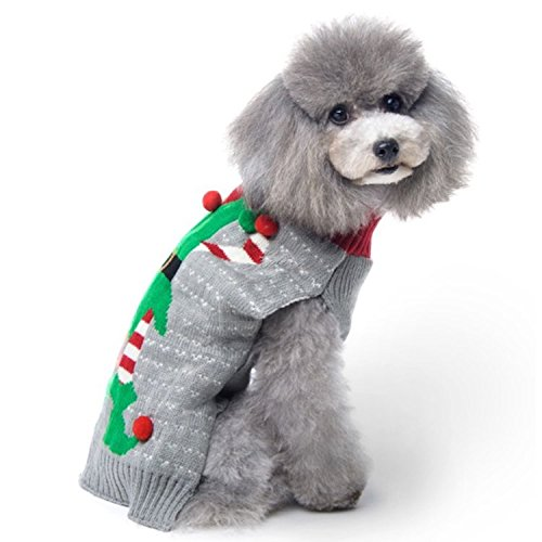 Dog Sweaters Christmas Santa
