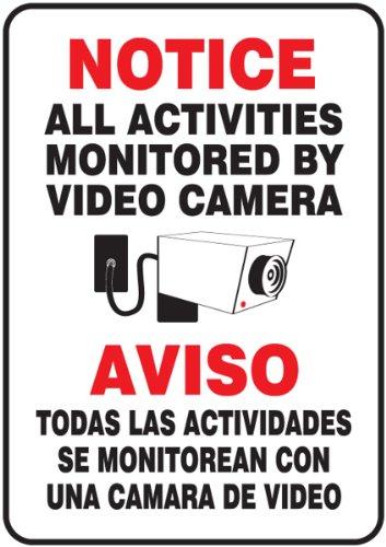 Accuform Signs SBMASE809VP ACTIVITIES ACTIVIDADES
