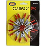 """8 Pack 2"""" Mini Spring Clamps"""