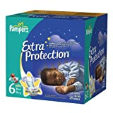 Pampers Extra Protection Diapers, Super Pack, Size 6, 58 ea 1 pack