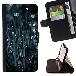 Momo Phone Case / Flip Funda de Cuero Case Cover - Hierba Bokeh;;;;;;;; - Samsung Galaxy Note 3 III