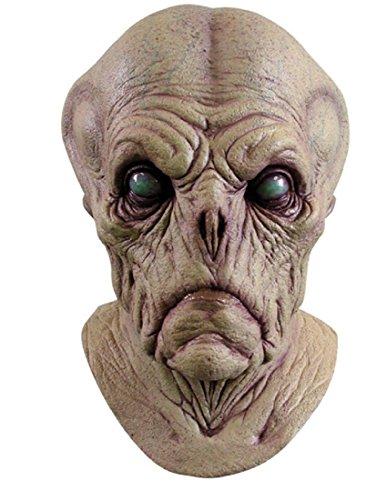 [Alien Probe Costume Item] (Latex Alien Mask)