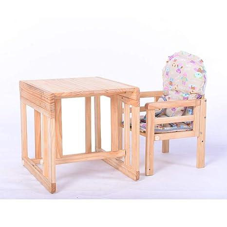 JZX Silla de Comedor para bebés, Mesa de Comedor y sillas, Silla ...