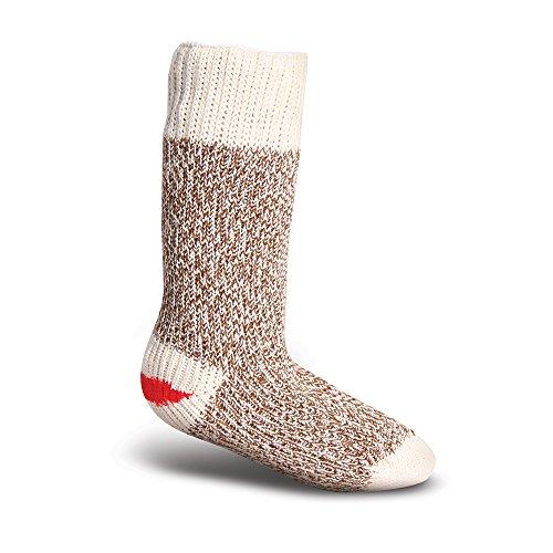 Monkey Cloths (Fox River Original Rockford Red Heel Lightweight Monkey Socks (2 Pack), BROWN MINI, Toddler small)