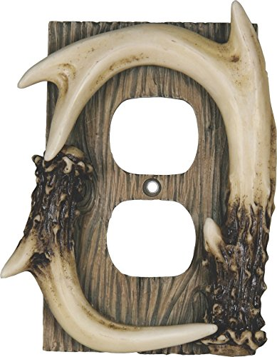 River's Edge Products Deer Antler Receptacle Cover