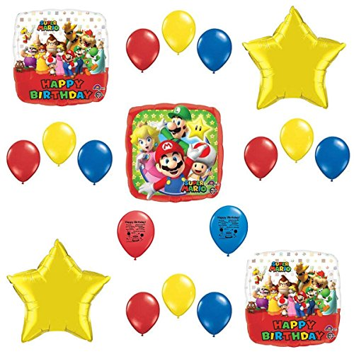Combined Brands Super Mario Bros Party Supplies Balloon Decoration Kit for $<!--$14.99-->