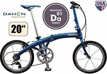Bicicleta plegable DAHON MU EX Uni 10-velocidades Shirt run Bean 20