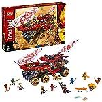 LEGO NINJAGO BountydiTerra, Action Set con la Regina-Serpente, Playset Maestri dello Spinjitzu, 70677  LEGO