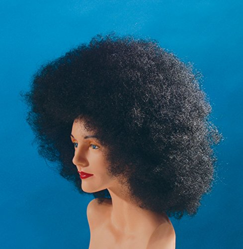 Loftus International Star Power Giant Super Fro Halloween Afro Wig Black One Size Novelty Item -