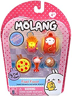 Molang Fast Food - 6 Piece Set