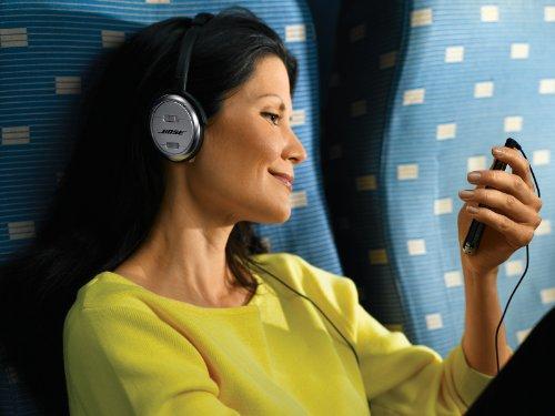 51mQ3NPiufL - Bose QuietComfort 3 Acoustic Noise Cancelling Headphones, Black