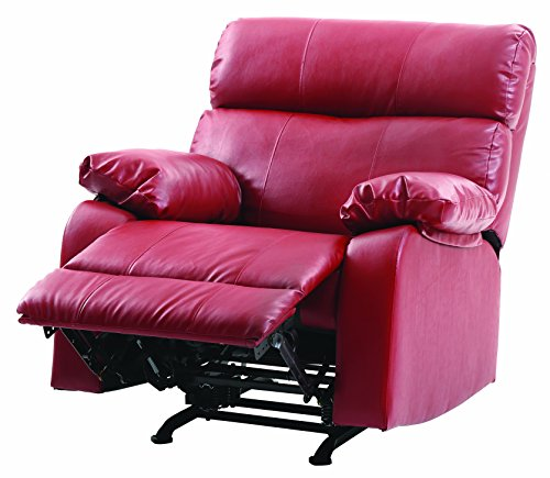 39 in. Rocker Recliner in Red 801422