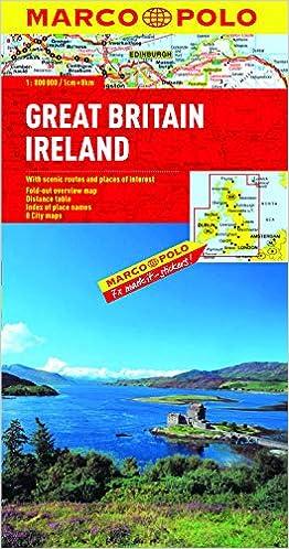 UK map with Ireland