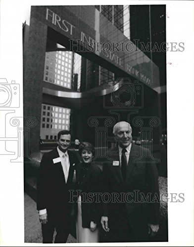 Vintage Photos 1988 Press Photo Officers And Board Members Of First Interstate Bank   Houston