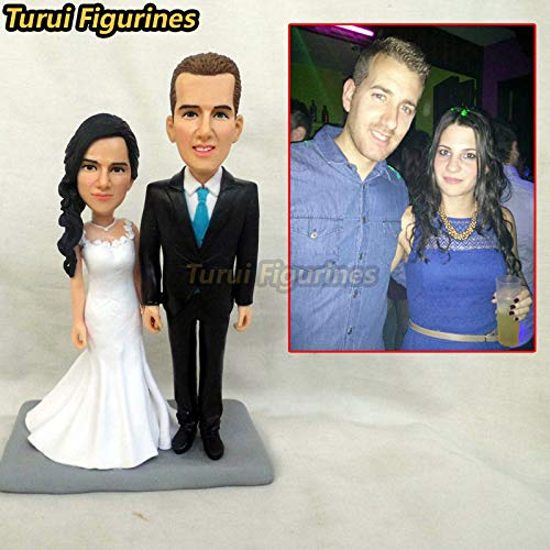 Amazoncom Custom Father And Mother Bobblehead Family Gift Parents