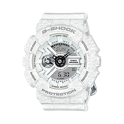 G-Shock GMAS-110HT-7A S-Series Heathered Color Luxury Watch - White / One Size - White G Shock Watches For Women