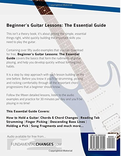 Beginners Guitar Lessons The Essential Guide The Quickest Way To