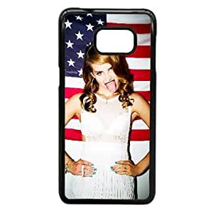 Samsung Galaxy S6 Edge Plus Case,Custom Cell Phone Case for Samsung Galaxy S6 Edge Plus [Black] Lana Del Rey [Theme] LA2194