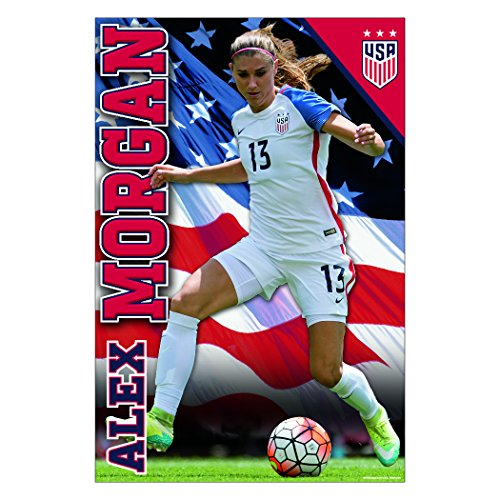 Alex Morgan Action Poster | Official Licensed Product