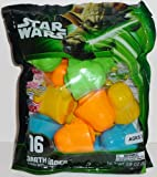Galerie Easter Star Wars Vader Head Egg Set with Candy, 2.9 Ounce, 16 Count