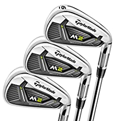 The M2 provides maximized distance and height, now with face slots for increased forgiveness. It's pushing the limits in iron design and engineering. The M2 has ultra-low CG & max-cor, wtih moving discretionary weight lower in the head vi...