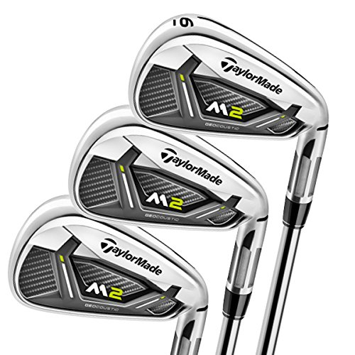 TaylorMade IRS-M2 17 4-P S Golf Iron Set, Right Hand, 4-PW