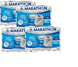 Marathon Embossed Bath Tissue, 48-pack. (pack of 4)