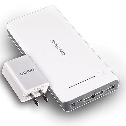Amazon 30000mah portable power bank gen 3usb external 30000mah portable power bank gen 3usb external battery usb sciox Gallery
