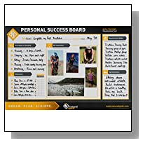 GOAL PLANNING AND GOAL ACHIEVEMENT POSTER (DRY ERASE) ? Visualize Goals, Track Progress - Goal Tracker & Planner Chart ? Vision Board ? Set of 3