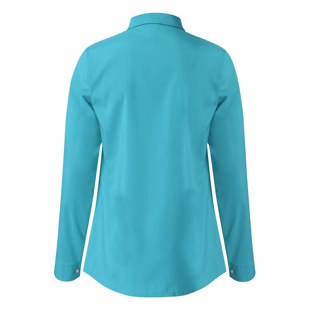 TAGGMY Men Shirts Long Sleeve Solid Color Spring Fashion Design Casual Slim Fit Button Standing Collar Tops Blouse T-Shirt