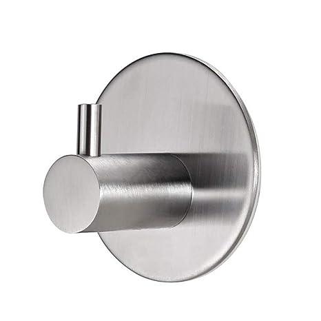 Wanlianer Gancho Autoadhesivo, Colgador para Toallas de Acero Inoxidable para Cocina, baño y Oficina
