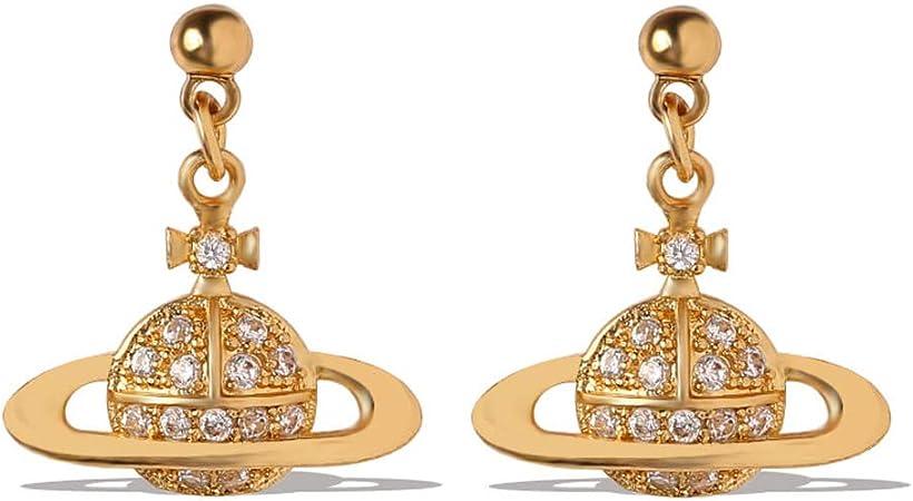Zq Earrings Female Long Temperament Han Stars Ball Cool Wind Earrings Personality Simple Tide Diamond Earrings Amazon Co Uk Kitchen Home