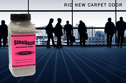 SMELLEZE Eco New Carpet Smell Remover Deodorizer: 50 lb. Powder Rids Carpet VOC