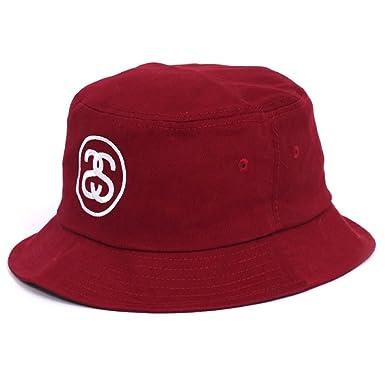 a3531df3f5d Stussy SS Link FA15 Bucket Hat - Burgundy-L XL  Amazon.co.uk  Clothing