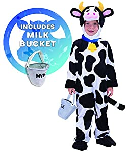 Spooktacular Creations Child Cow Costume (3T)
