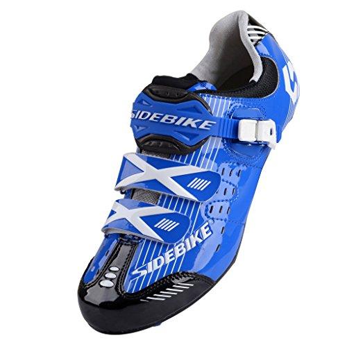 Sd003 Avec De Chaussures Système Noir Aux Pédale Route Bleu Fixation Skyrocket amp;noir Pédales Vélo z65Iwnxq