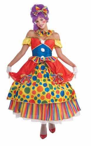 Plus Costumes Big Clown Top (Forum Novelties Women's Belle Of The Big Top Circus Costume, Multi, One)