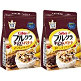 Calbee Chocolate Banana Crunch Fruit Granola Cereal 2 Pack