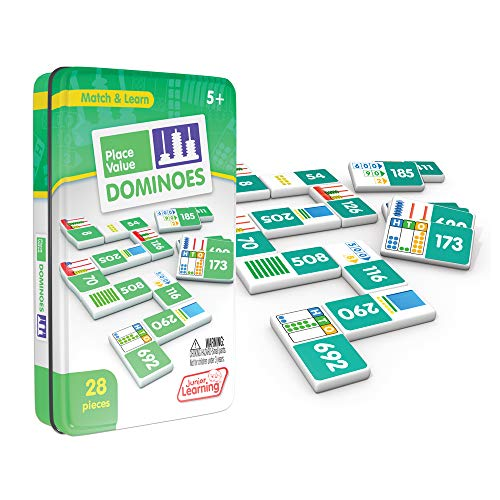 Junior Learning Place Value Dominoes Educational Action Games