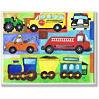 The Kids Room by Stupell Transportation Collage Oversized...