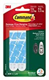 Tools & Hardware : Command Outdoor Foam Strip Refills, White, 4-Medium and 2-Large Strips (17615AW-ES)