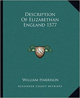 description of elizabethan england