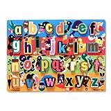 Melissa & Doug Jumbo Alphabet Chunky Puzzle (LC) (26 pcs)