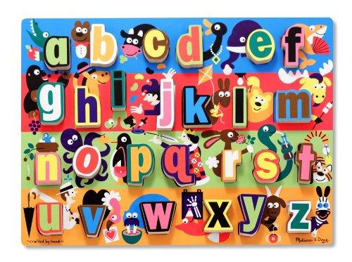 Jumbo Alphabet Chunky Puzzle - Melissa & Doug Jumbo ABC Chunky Puzzle
