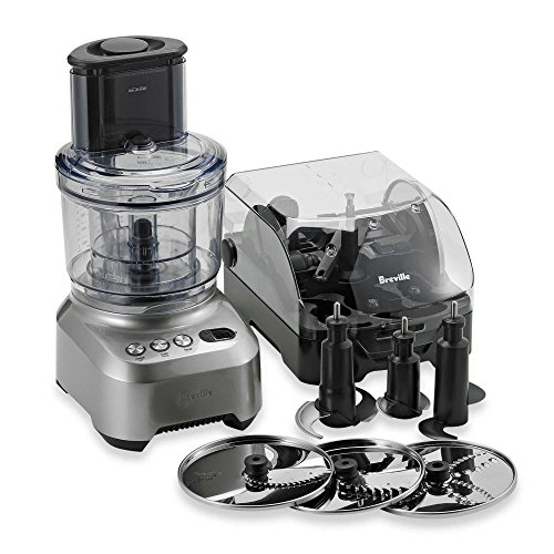 Breville Sous Chef Food Processor features Numerous Slicing, Dicing, Chopping & Kneading Options w/ 25-year Manufacturer's Warranty on Induction Motor (Breville Mini Food Processor compare prices)