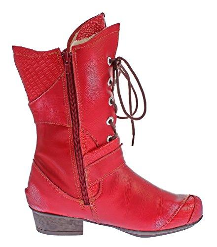 TMA - botas clásicas Mujer Rojo