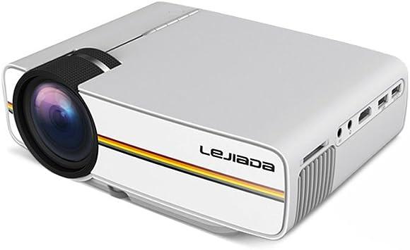 Docooler YG410 LCD Portable Mini HD Proyector con conexión de ...